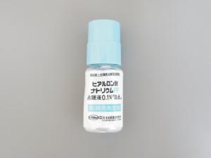 ヒアルロン酸ナトリウムPF点眼液0.1%(ヒアレイン点眼同成分)