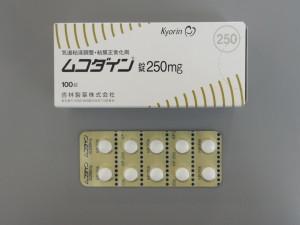 ムコダイン錠250mg
