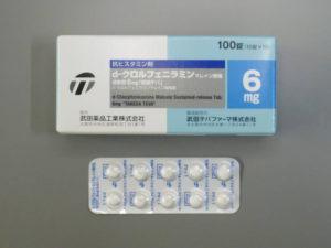 d-クロルフェニラミン徐放錠6mg「武田テバ」